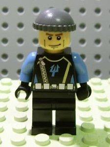 Lego Minifigure: AquaRaider Diver 2
