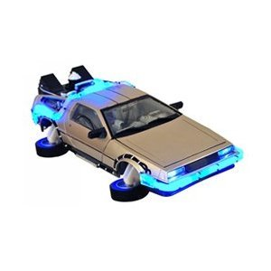Back to the Future II DeLorean Vehicle Case  バックトゥザフューチャー2 デロリアン 1/15 スケール 特別限定版 並行輸入品