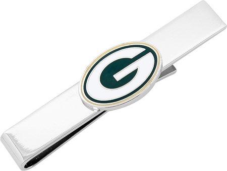 Cufflinks Inc Men's Green Bay Packers Tie Bar
