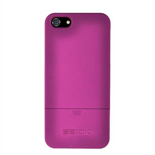 Best Price Seidio CSR3IPH5-HP Surface Case for Apple iPhone 5 - 1 Pack - Retail Packaging - Fuchsia