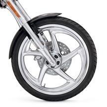 """H-D 17"""" Rear Softail Reaper Custom Wheel 40802-08"""