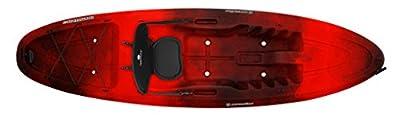 9330885145 Perception Kayak Conduit Red Tiger Camo Kayak by Confluence Kayaks