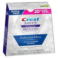 Crest 3D White Luxe Whitestrips Professional Effects Teeth Whitening Kit