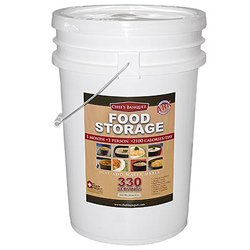 Chef's Banquet ARK - 330 Total Servings of Emergency Food Storage 1 Month Supply from Chef's Banquet