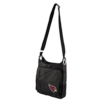 NFL Arizona Cardinals Ladies Color Sheen Cross Body Purse, Red by Littlearth