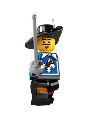LEGO Series 4 Collectible Minifigure Musketeer