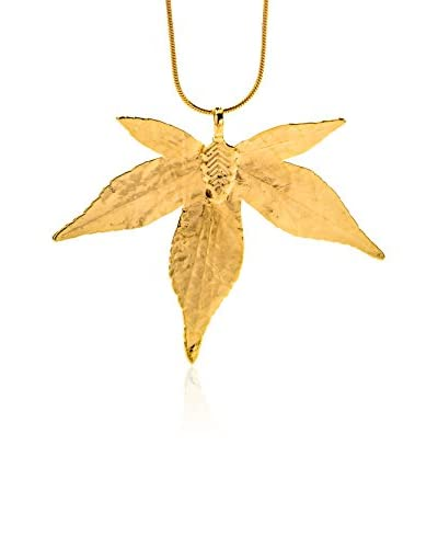 Ana Natural Leaves Pendente