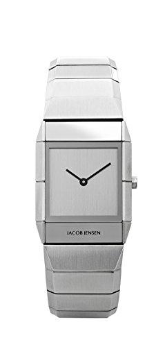 Jacob Jensen Unisex-reloj analógico de cuarzo de acero inoxidable Jacob Jensen Sapphire 562