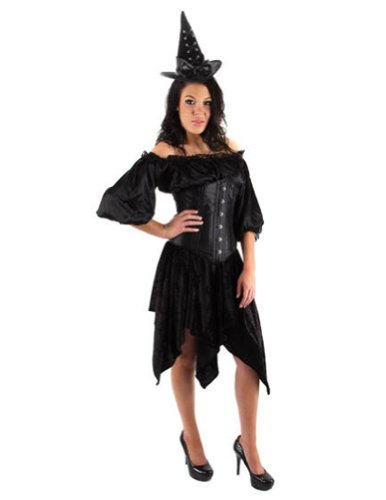 Halloween Costumes Item - Hat Cocktail Corset Witch