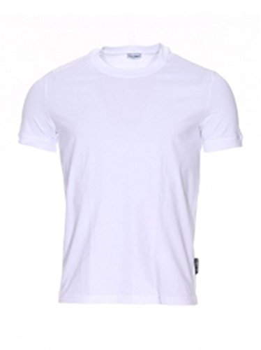 T-Shirt Uomo Girocollo Bianco N60049 O0024 - Dolce & Gabbana , M