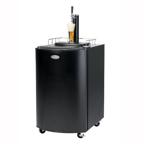 Why Choose Nostalgia Electrics KRS2100 Kegorator Beer Keg Fridge, Black
