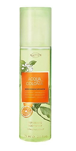 4711 Acqua Colonia spray Unisex, aroma mandarino e cardamomo ,75 ml