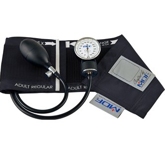 MDF Calibra Aneroid Sphygmomanometer - Professional Blood Pressure Monitor with Adult Sized Cuff Included - Black (MDF808M-11) (Welch Allen Blood Pressure Kit compare prices)