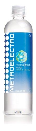 Metroelectro Micronutrient Water, 20-Ounce Bottles (Pack of 12)