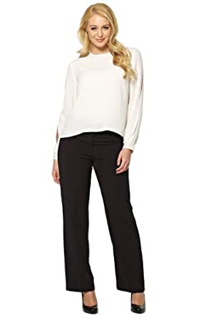 Roman Women's Top Long Sleeved Blouse with Studded Cuff and Back Detail Tops White Size 22