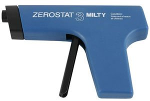 MILTY - ZEROSTAT ANTI-STATIC GUN (BLUE)