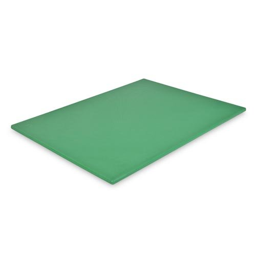 Clipper 215-00260 18-Inch by 24-Inch by 0.5-Inch Polyethylene Cutting Board, Green