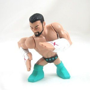 WWE Rumblers CM Punk Single Figure - 1