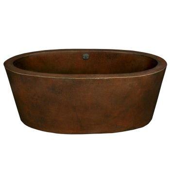 Native Trails Aspen 64 in. Freestanding Soaking Bathtub (Metal Soaking Tub compare prices)