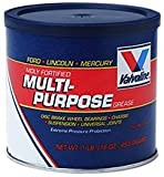 Valvoline VV632 Moly Fortified Multi-Purpose Grease ( for Ford, Lincoln and Mercury Vehicles), Single Pack