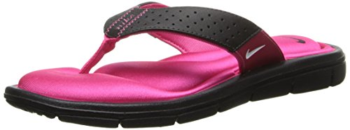 2c24a782a98d Nike Womens Comfort Thong Sandal Black Pink White Size 8 Review ...