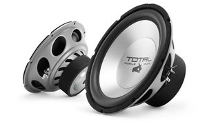 "Total Mobile Audio T10D4P 10"" 300W Dual 4 Ohm Subwoofer By Jl Audio"
