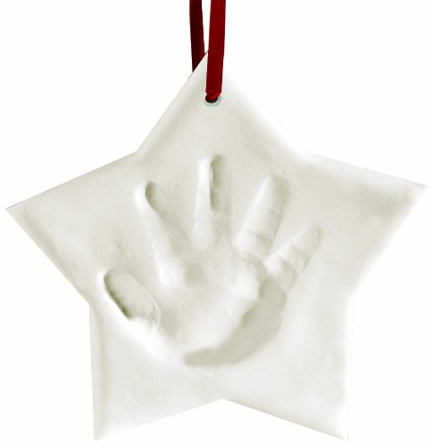 Pearhead Babyprints Ornament, Star