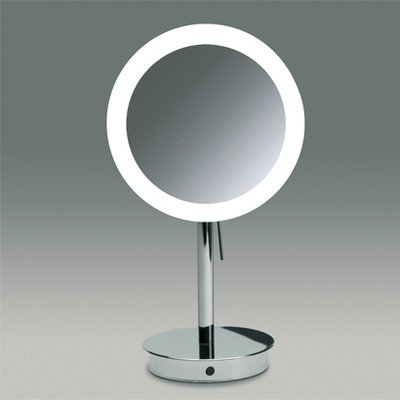 Nameeks 99851 O 3X Windisch Free Stand Led Make Up Mirror, Gold front-313541