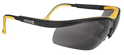 Dewalt DPG55-6C Dual Comfort Silver Mirror High Performance Protective Safety Glasses with Dual-Injected Rubber Frame and Temples
