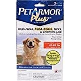 Pet Armor Plus Igr For Dogs Flea And Tick, Size: 45-88lb 3 Count