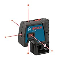 Bosch GPL5E 5-Point Laser Alignment with Fully Automatic Leveling
