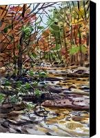 Sope Creek One Canvas Print / Canvas Art - Artist Donald Maier