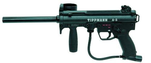 Tippmann A-5 .68 Caliber Paintball Marker With E-Grip