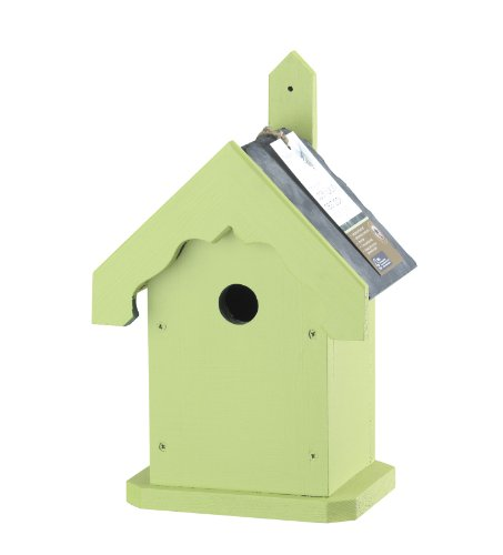 Chapelwood Apex Style Luxury Nest Box (sage Green)