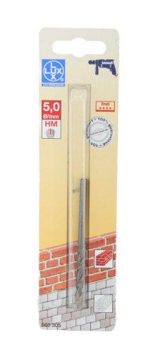 LUX 565305 HM-Steinbohrer Gesamtlänge in mm 84 mm Durchmesser in mm 5 mm PROFI