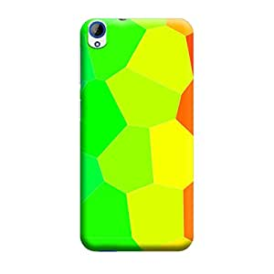 iCover Premium Printed Mobile Back Case Cover With Full protection For HTC 820 (Designer Case)