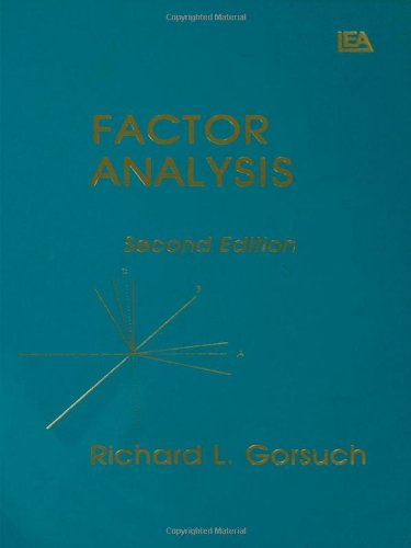 Factor Analysis, 2nd Edition