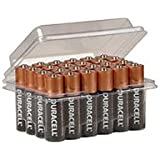 Duracell Coppertop Alkaline Batteries AA - 48PK With Free Clam Shell and Free MOSQUTIO Sticker