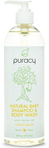Puracy Natural Baby Shampoo, Bubble Bath, & Body Wash - Deve