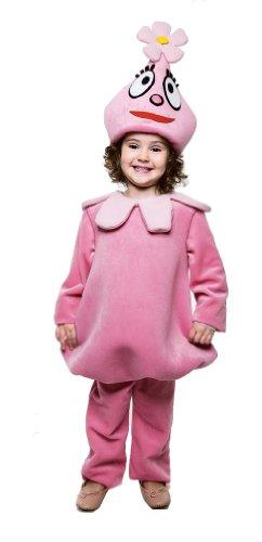 Yo Gabba Gabba Deluxe Foofa Toddler Costume, 2T