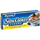 "Reynolds Metals 00504 Slow Cooker Liners 13""X21"", 4 LINERS"