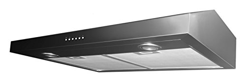Ancona Slim 5-Inch Height Stainless Steel Under Cabinet Range Hood