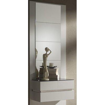 Garderoben-Set Farbe: Weiß / Natur