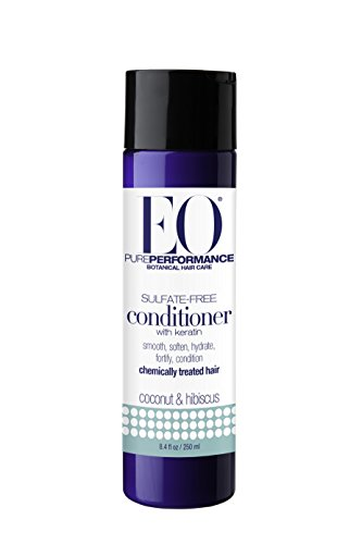 EO Botanical Sulfate-Free Conditioner with Keratin, Coconut & Hibiscus, 8.4 Ounce (Eo Essentials Conditioner compare prices)
