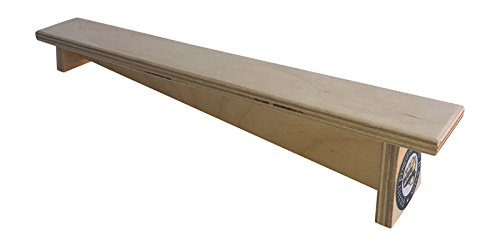 Slant Fingerboard Bench for fingerboards or tech decks from Filthy Fingerboard Ramps