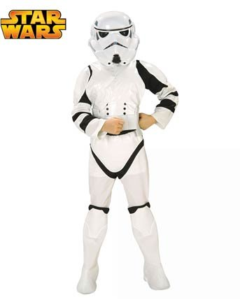 Collector Edition Stormtrooper Kids Costume - Child Large