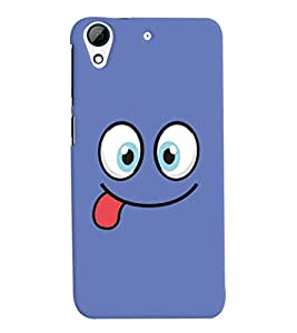 ColourCrust HTC Desire 626 / 626 G Plus Mobile Phone Back Cover With Smiley Expressions Style - Durable Matte Finish Hard Plastic Slim Case