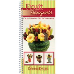 CQ Products Delicious Designs Cookbook: Fruit
