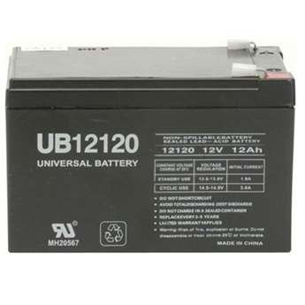 RAZOR DIRT BIKE MX500 Replacement Battery UB12120 12V 12AH 12VOLT SLA BATTERY (Electric Dirt Bikes For Sale compare prices)