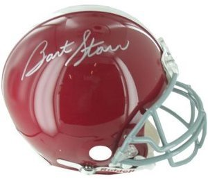 Bart Starr Autographed Hand Signed Alabama Crimson Tide Full Size Authentic Helmet-... by Hall of Fame Memorabilia